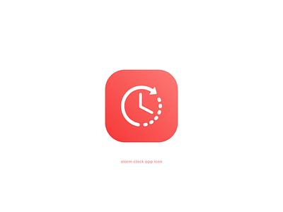Daily UI 05   App Icon! ⏰ daily ui alarm clock timer dailyuichallenge dailyui 005 dailyui icon illustration flat graphicdesigner vector minimal graphicdesign dribbble design