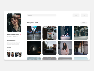 Daily UI 06 | User Profile! 😁