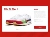 Daily UI 12 | E-Commerce Shop (Single Item)