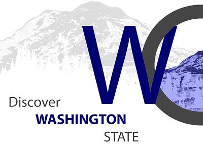 Discover United States hero advencher travel discover mount rainier mountain mount seattle washington state ux design ux ui front end design design
