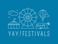 Yay Festivals Brand Exploration