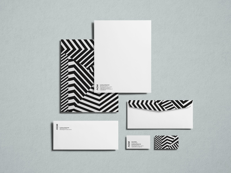 Agm Stationery branding design creative studio toronto graphic  design pattern art logo identity system identity visual identity branding agency stationery design branding stationery