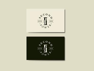 Second Power icon branding illustrator flat logo branding minimal flat illustrator clean logo vector design