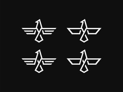 EAGLE Concepts eagle branding identity minimal flat illustrator illustration clean logo vector design