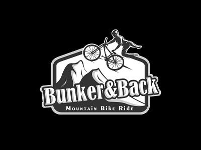 Bunker&Back art inspiration lettering type graphic design awesome creative character illustrator flat logo branding typography icon minimal identity illustrator flat clean logo vector illustration design