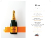 Veuve Clicquot Champagne Dinner