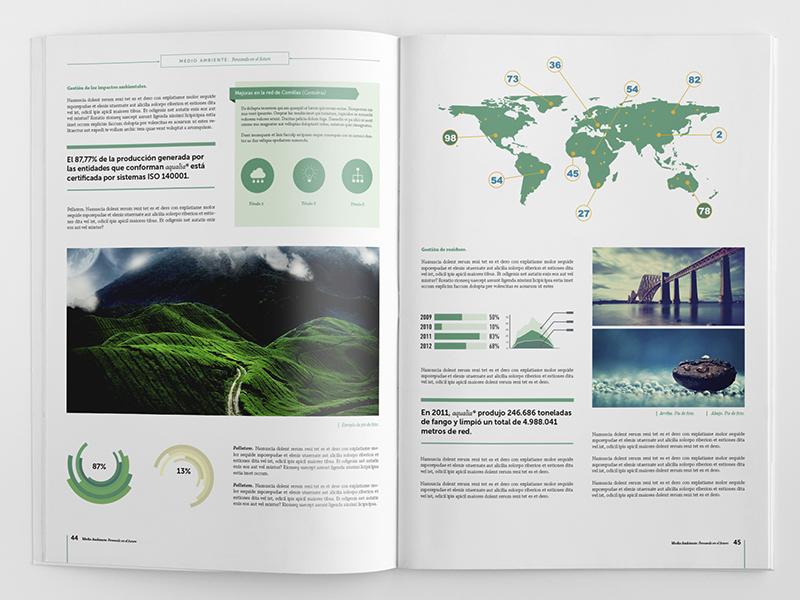 Corporate Brochure Template By Fernando Báez Dribbble - Infographic brochure template