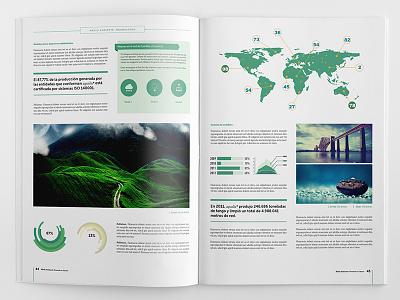 Corporate brochure template. corporate brochure branding infographics layout