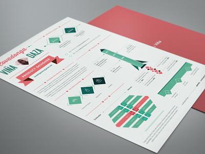 Resume Design resume cv infographics print
