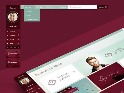 UI & APP Layout. PSD Template. ui user interface psd template psd layout download