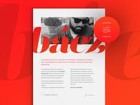 Resume / CV Cover