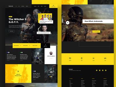 Videogame Website