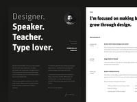 New Resume (CV) Design