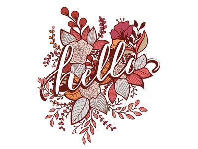 Hello, Floral Print