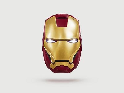 Iron Man iron man movie helmet metal reflexes