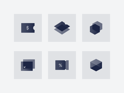 Piano.io — Iconography payment noise design style piano sophisticated sharp geometric ui icons
