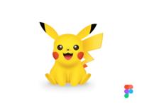 Pikachu in Figma