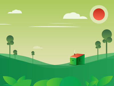 Grassland Tour design illustration