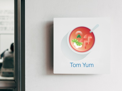 Soup Series: Tom Yum tom yum meeting room soup illustration connected