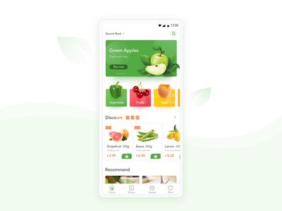 Food App animation ux ui