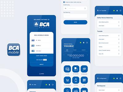 Bca Mobile Redesign By Yogiriz On Dribbble