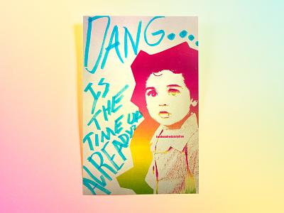 Poster TwoHundredSixtyFive: time up hodgepodge hand drawn photoshop cc illustrator cc poster challenge poster design