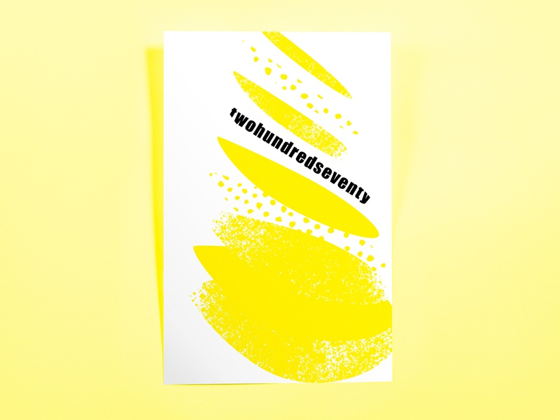 Poster TwoHundredSeventy: untitled lemon poster minimal illustrator cc poster challenge poster design