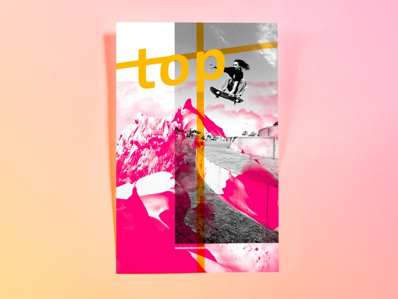 Poster TwoHundredSeventyFive: top photoshop cc illustrator cc poster challenge poster design