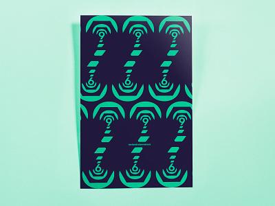 Poster TwoHundredSeventySix: spanner abstract minimal illustrator cc poster challenge poster design