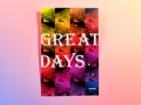 Poster TwentySix: Great Days