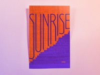 Poster FiftyNine: sunrise