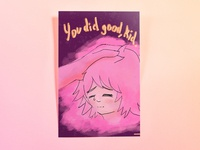 Poster Seventy: You did good, kid.