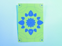 Poster Eighty: 紫陽花 (hydrangea)