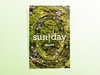 Poster EightySeven: sun|day