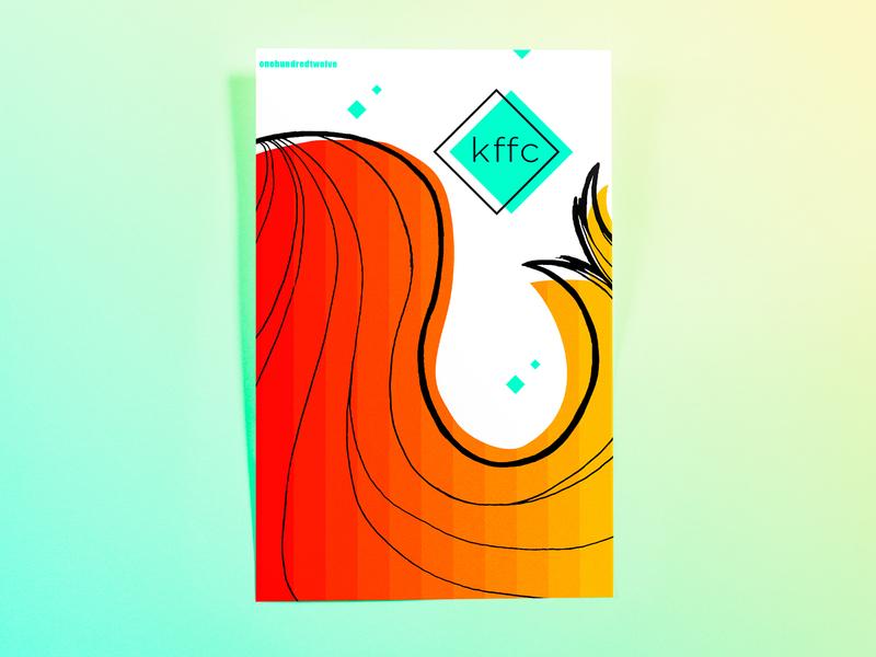 Poster OneHundredTwelve: kffc poster challenge poster design