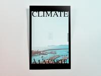 Poster OneHundredSeventyFour: climate à la carte