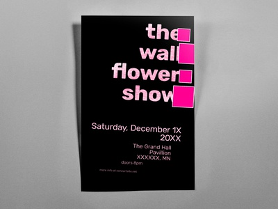 Poster TwoHundredThree: the wallflower show