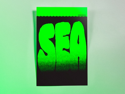 Poster TwoHundredEleven: sea