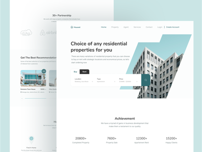 Landing Page Real Estate exploration real estate landing page