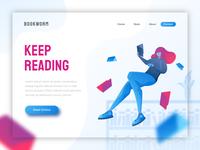 Bookworm - header illustration