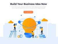 building business idea animation