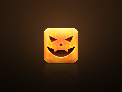 Pumpkin pumpkin icon sam jones ios design halloween arcane
