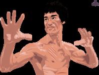 Mr. Bruce Lee Portrait Illustration