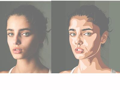Taylor Marie Hill creativerecreation creative art vector portrait illustration portrait illustration design