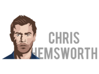 personality logo of chris