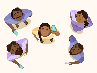 Data sharing indian people spot illustration account aggregator vector bharat vector artwork adobe illustrator branding india illustration design