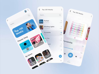 MUSIC app prototyping animation music player ui music app protopie prototyping protoype