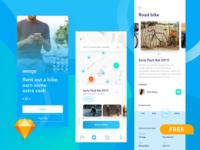 FREEBIE - bike sharing app