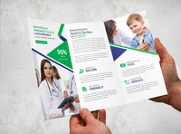 Medical Trifold Brochure design