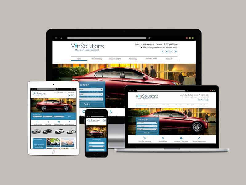 Honda Dealership Website automotive responsive ux web design